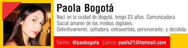 Paola Bogota Ficha DTODO