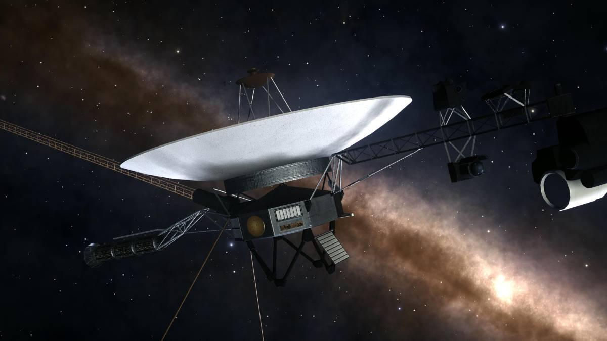 Como una botella en el mar: The Voyager