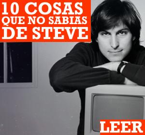 10 cosas que realmente NO SABIAS de Steve Jobs