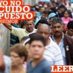 """Crónica de las colas: """"Yo no cuido puestos"""""""