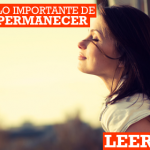 Lo importante es permanecer