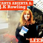 Carta abierta a J.K Rowling