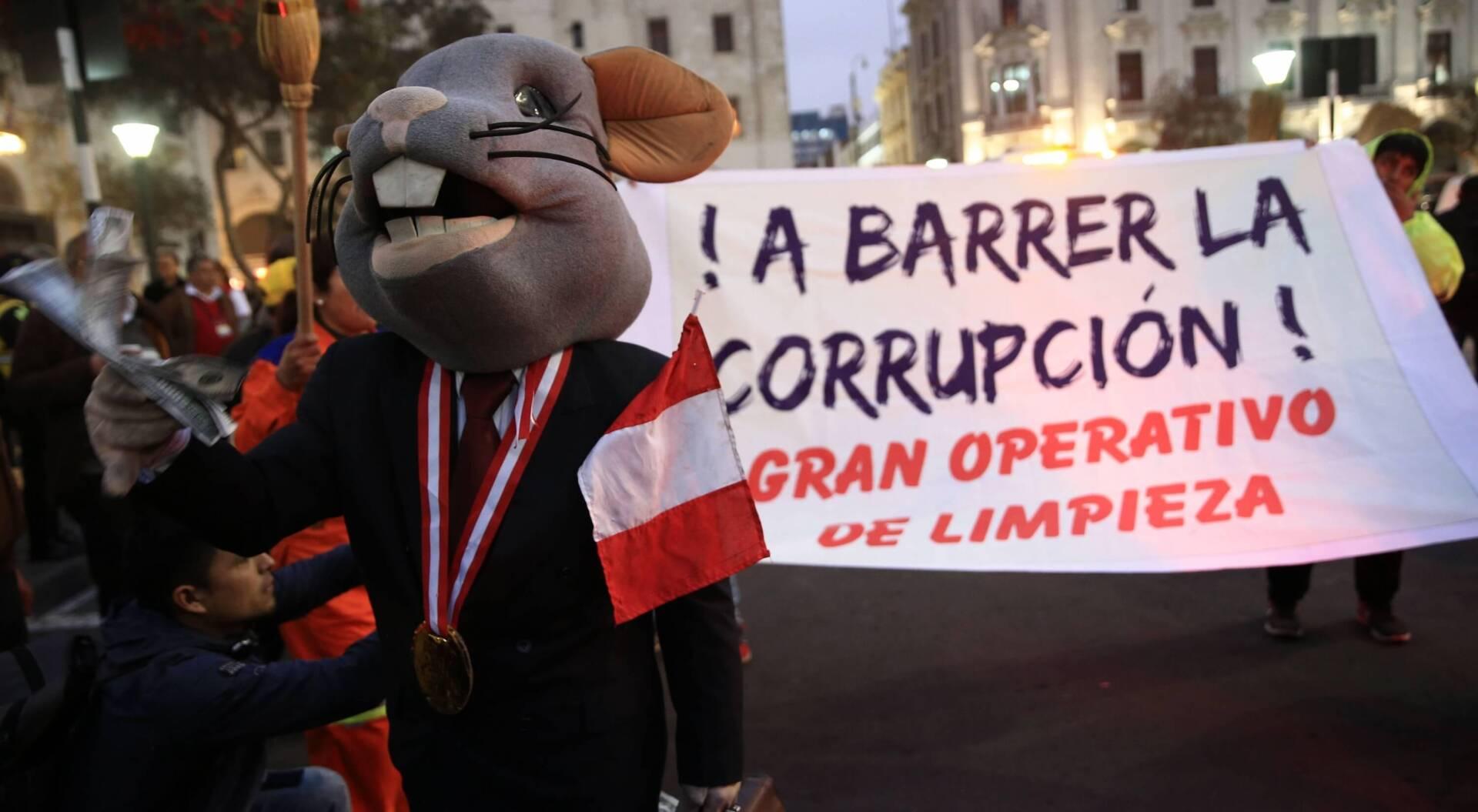Corrupción con historia