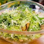 Recetas veganas: Ensalada de achicoria blanca