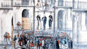 Breve historia sobre las ejecuciones en la Plaza de Mayo